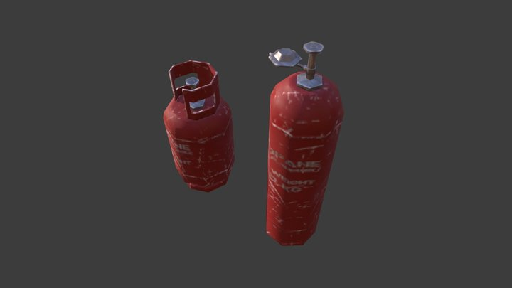 Global Props Balongas 3D Model