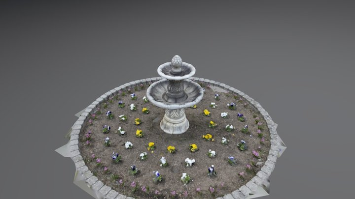 CESCG Fountain_demonstration 3D Model