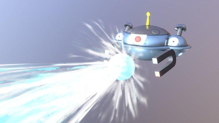 Magnezone Flash Cannon 3D Model