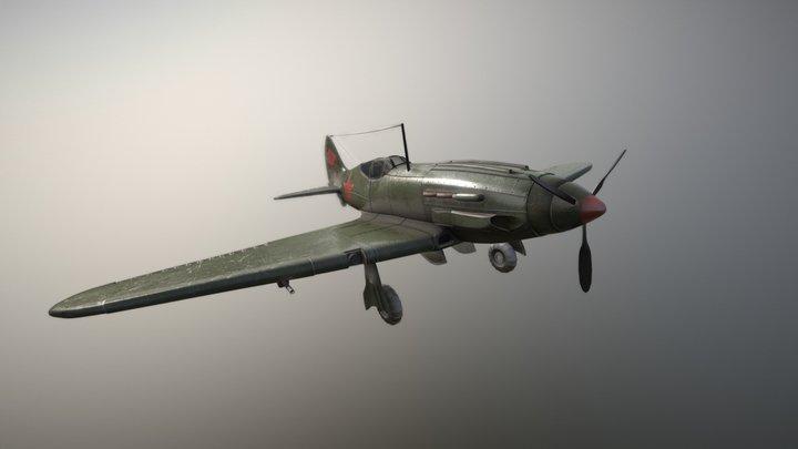 MiG-3 3D Model