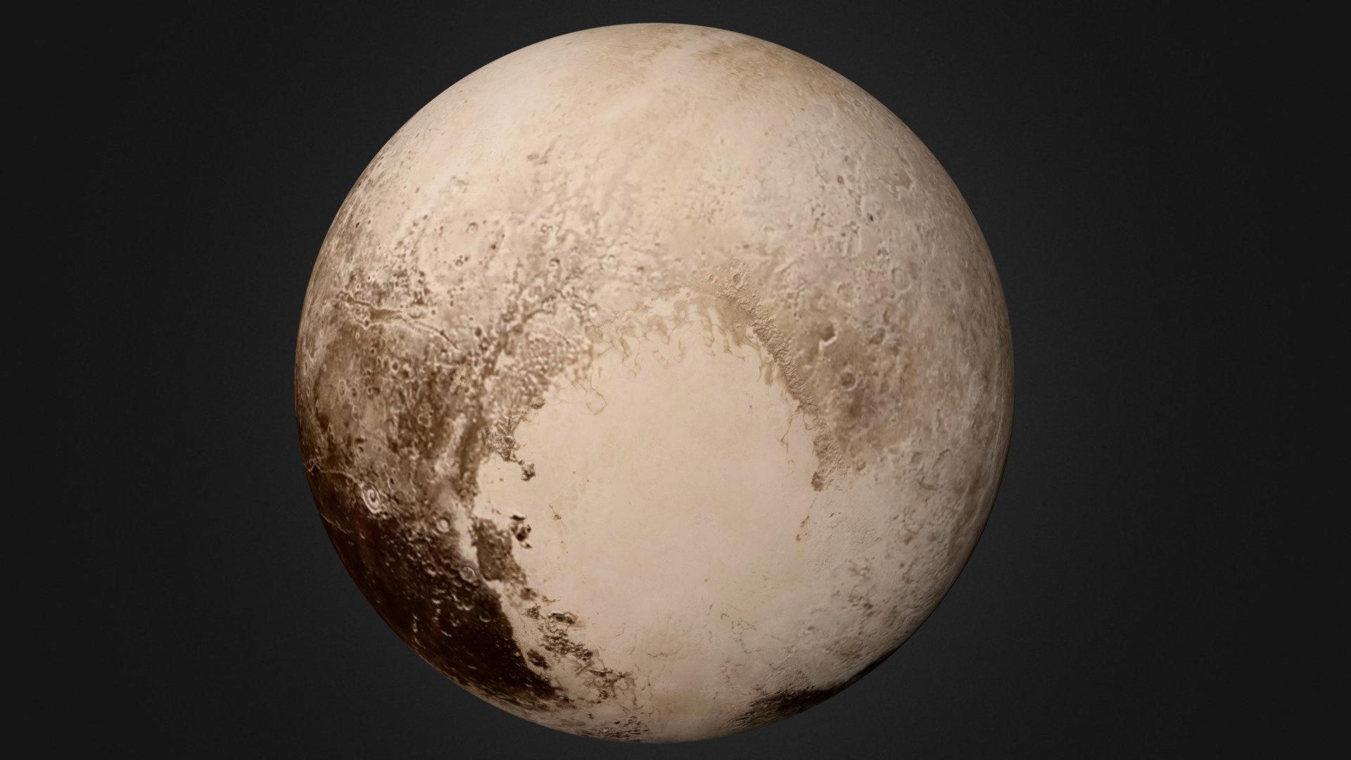 Фото планет плутон