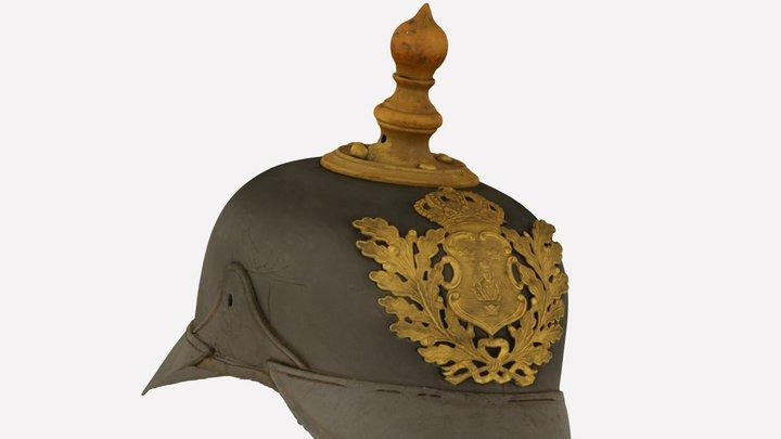 Swedish police helmet 3D Model
