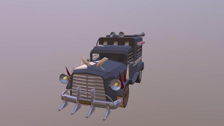 Rick And Morty Car 3D Model