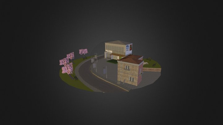 CityScene by Surgeon Simon 3D Model
