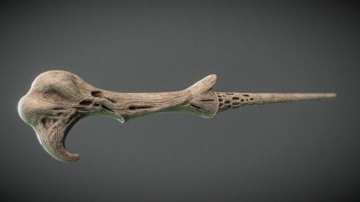 Voldemort´s Wand High 3D Model