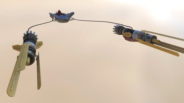 Anakin Pod Racer - Idle 3D Model