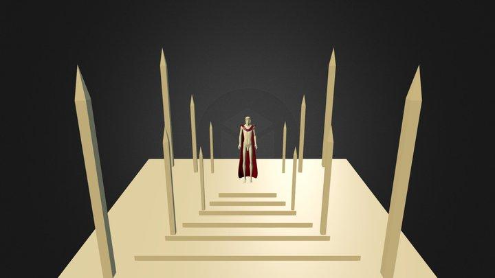 Kuros Romano 3D Model