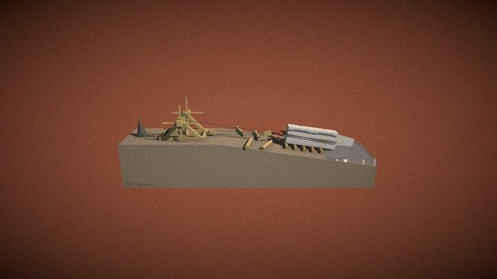IRAA JJM Treuil 3D 3D Model