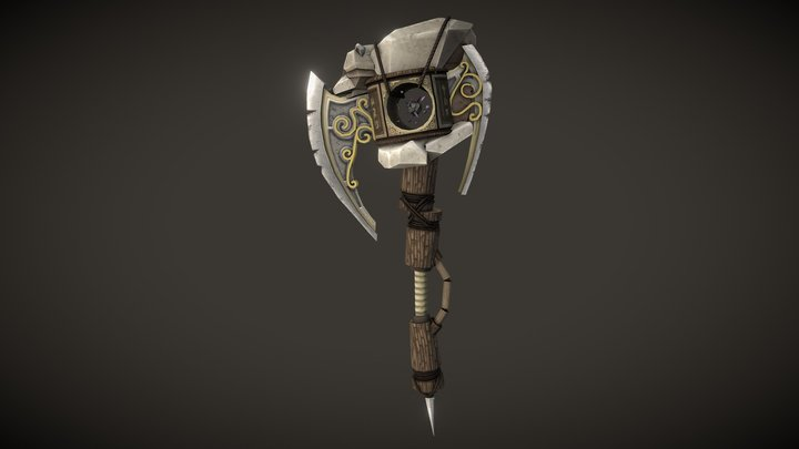 WOW - WeaponCraft - RaccoonAxe 3D Model