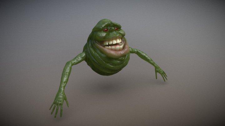 Ghostbuster's Slimer 3D Model