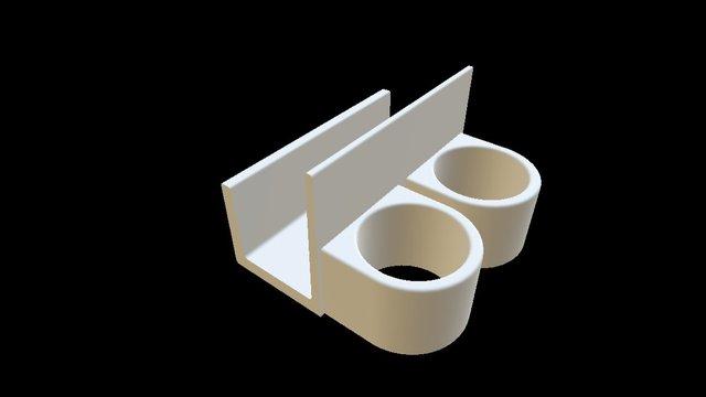 Sponge Wand Holder 3D Model