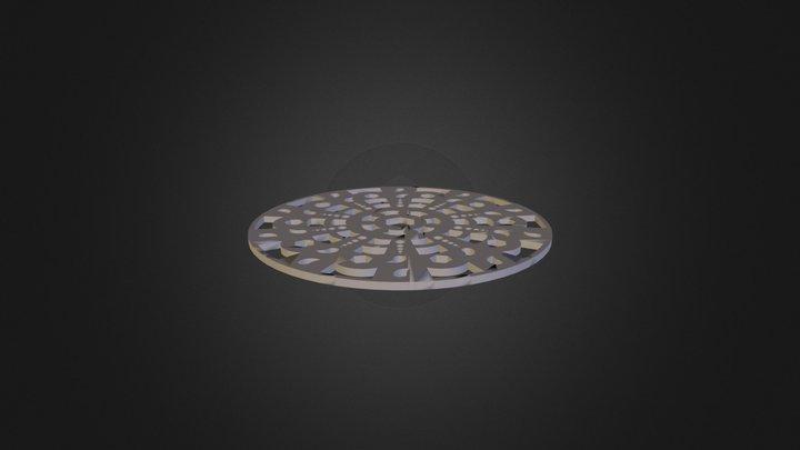 זיגלמן נצן מנדלה אישית השראה 3D Model