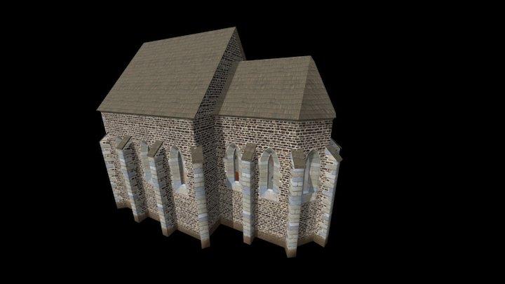 St Nichollas Church in Brno 3D Model