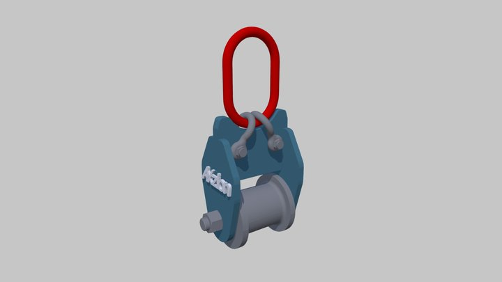 Axzion Rotating roller manual - Wenderolle 3D Model