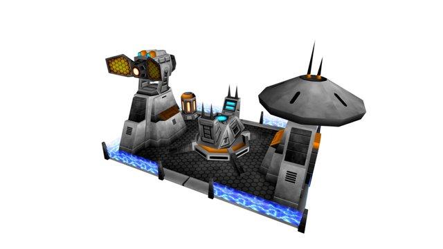 WEA Aegis Defense Site 3D Model