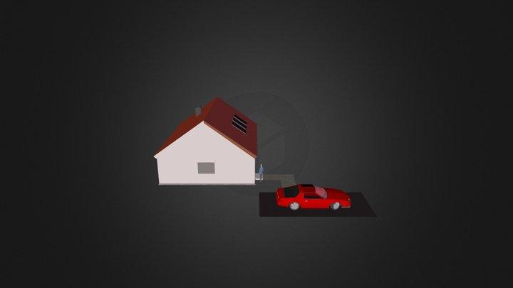 3d maja 3D Model