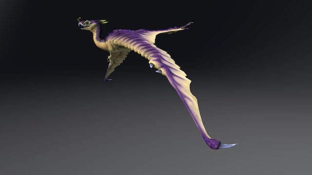 Hawkbat 3D Model