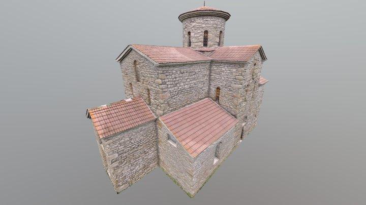 X century church 3D Model
