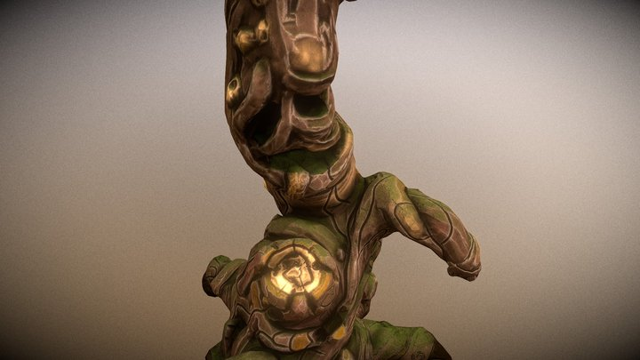 Old Tree Preview 3D Model