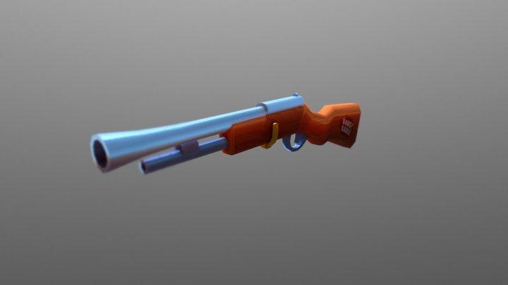 Hello Neighbor Rifle 3D Model