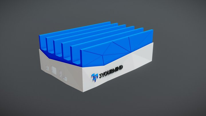 Charger case Preview 3D Model
