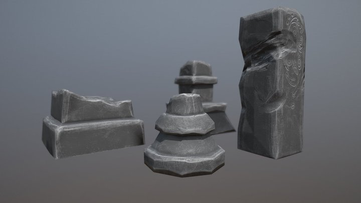 columns 3D Model