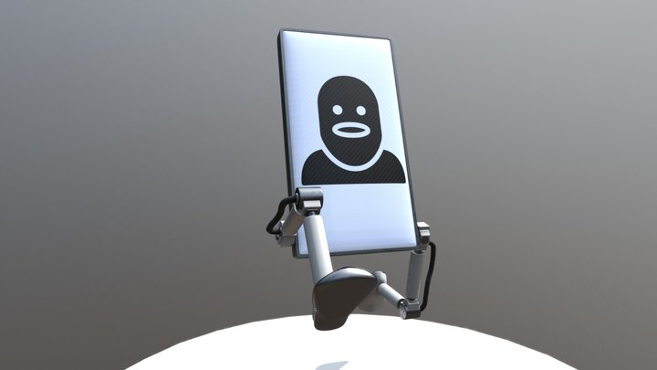 Sign Robot: Theif 3D Model