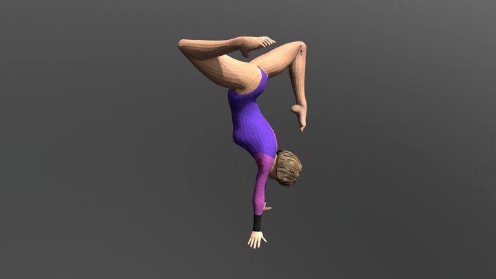 gymnastics 4 3D Model