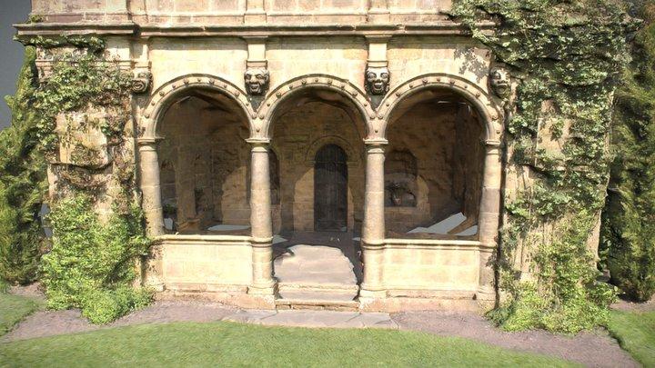 Arch House 3D Model