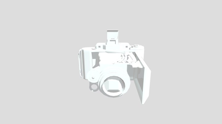 Zeiss Ikon Super Ikonta 531/2 camera 3D Model