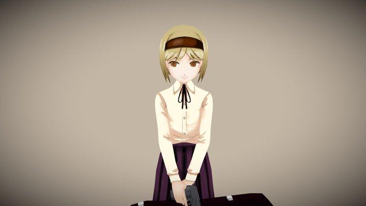 Henrietta - Gunslinger Girl 3D Model