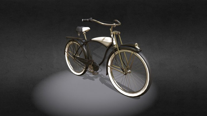 Schwinn bicycle 3D Model