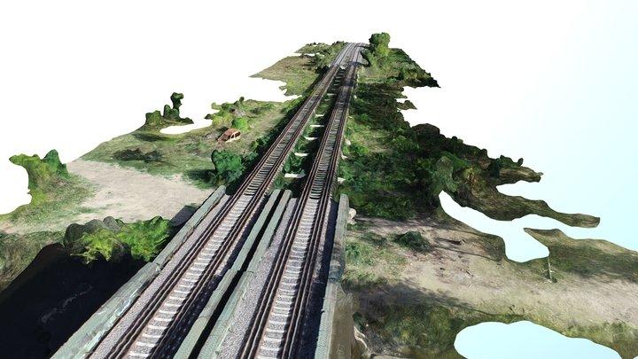 FFCC Mitre puente rio lujan 3D Model