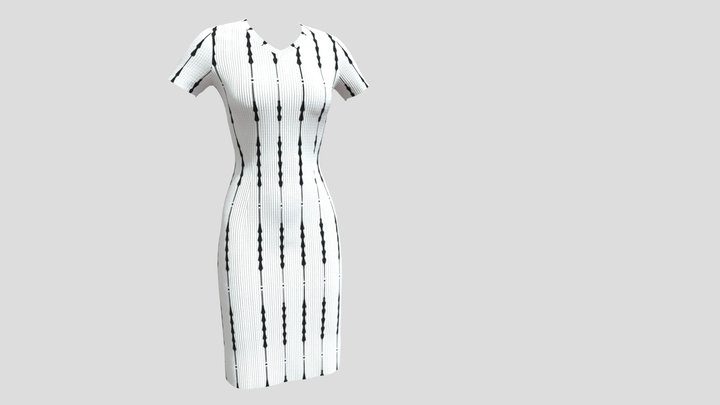 Basic dress modeling. 3D Model