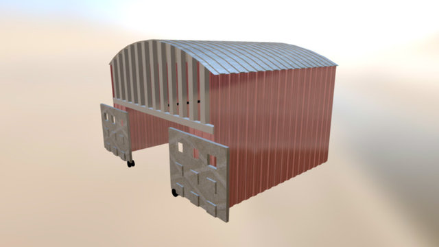 Henger Plane 3D Model