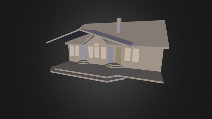 Roof Deck Option 4 3D Model