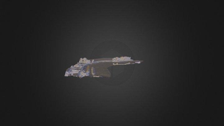 Pont Bochet 3D Model