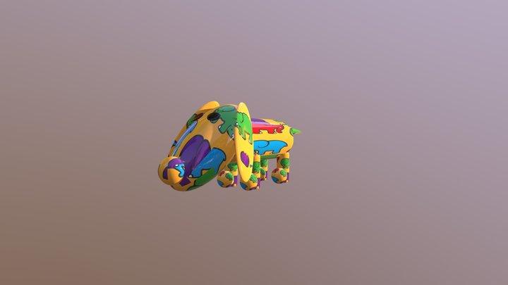 CorduroyDog1972-02 3D Model