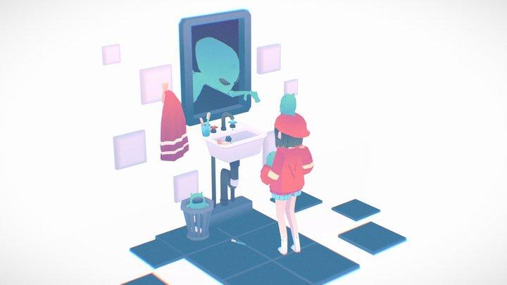 Aliens 3D Model