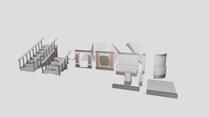 Modular Architecture Starter Set 3D Model