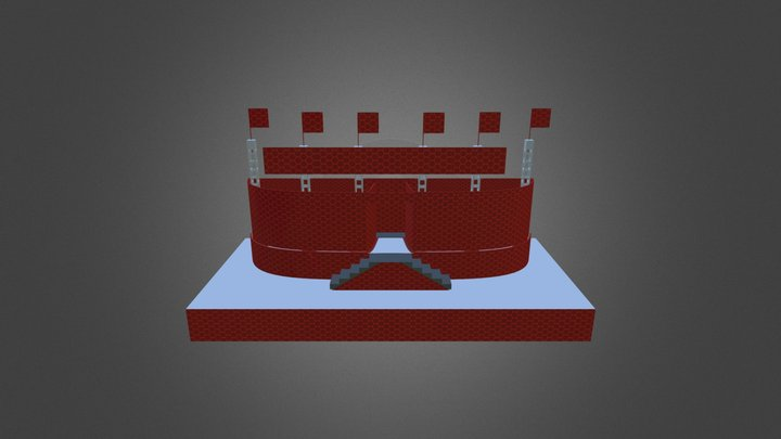 Cup Stage 3D Model