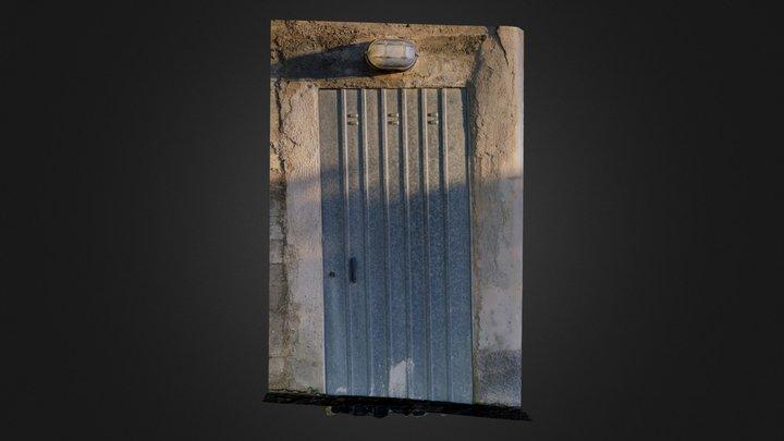 Cellar front door #3DST26 3D Model