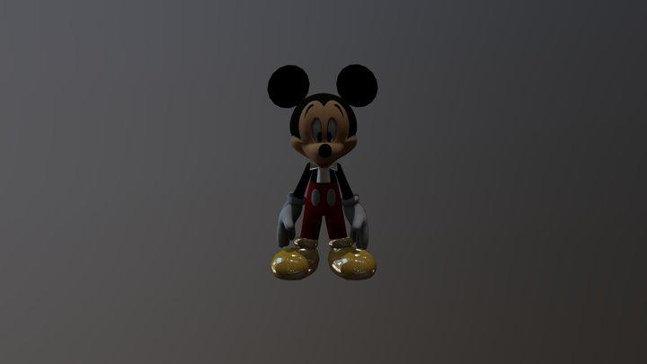 Fnati:The Magic Kingdom Revival mickey mouse 3D Model