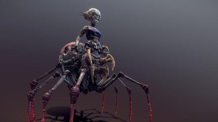 Arachne - Weaver of the Old Gods 3D Model