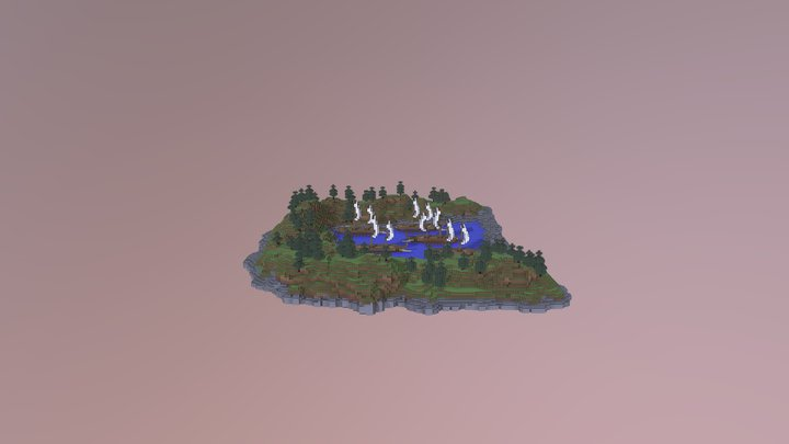 The Battle Of Salamis 3D Model