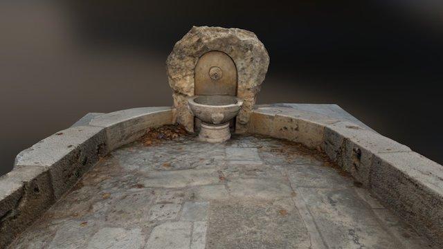 Fuente De Piedra 3D Model