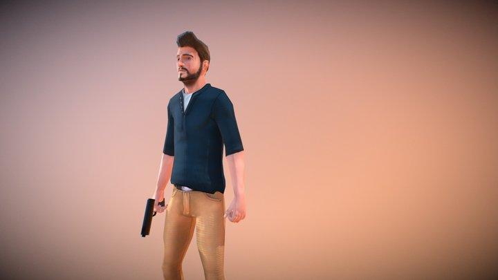 Blake - The Adventurer -Updated! 3D Model