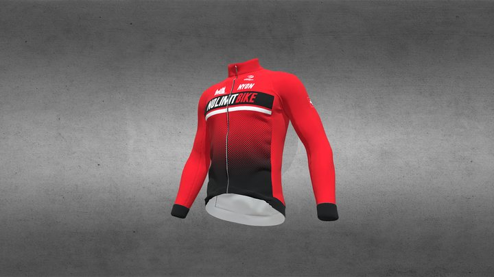 No Limitbike - Maillot long 3D Model