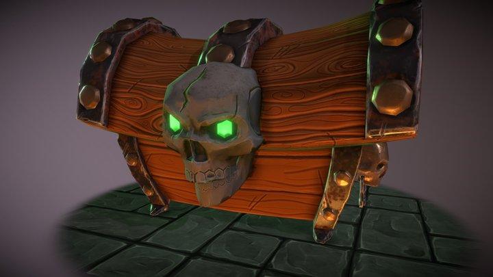 Cursed Treasure Chest 3D Model