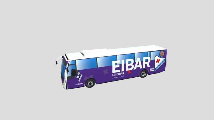 Autobús SD Eibar 3D Model